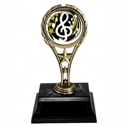 Classic Metal Music Trophies