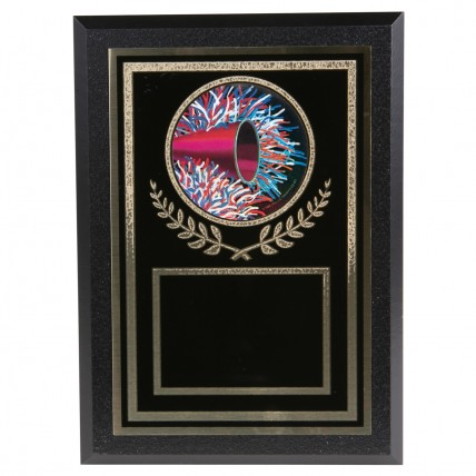 Gold-Tone Holographic Cheer Plaque