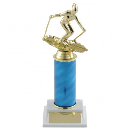 Custom Color Downhill Ski Award