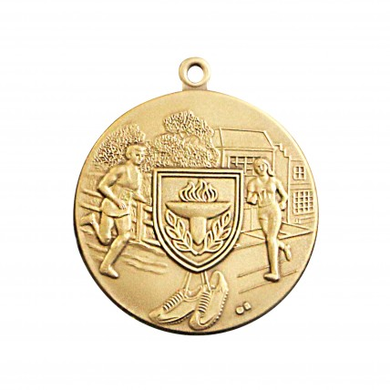Female Victory Shield Cross Country Track Medal
