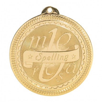 Gold Spelling Bee Medals