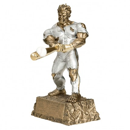 Ripped Baseball Beast Trophy