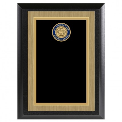 Personalized Color Coast Guard Appreciation Plaque