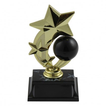 Star Spinner Bowling Trophy