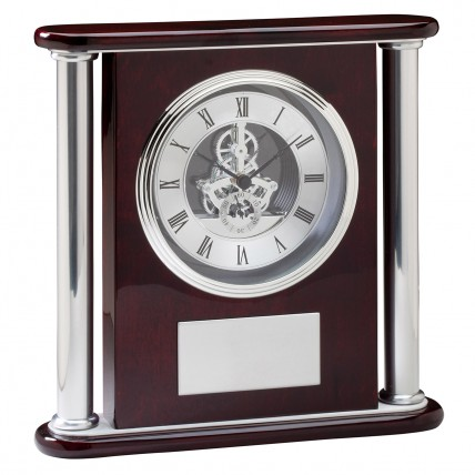Gears and Cogs Personalized Executive Clock