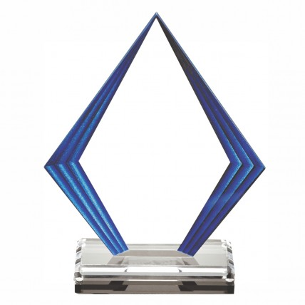 Step Edge Acrylic Pentagon Award