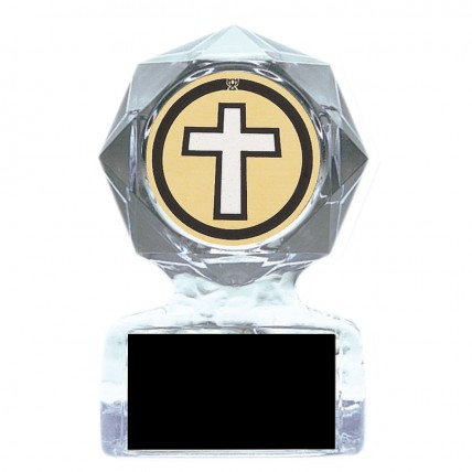 Acrylic Star Spiritual Recognition Trophies