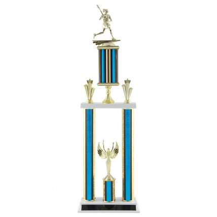 Deluxe Female Lacrosse Tournament Trophy - 27.5""