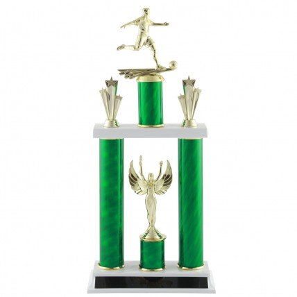 Male Soccer Tournament Trophy - 19""