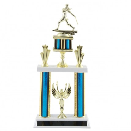 Deluxe Softball Tournament Trophy - 18.5""