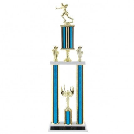 Deluxe Flag Football Tournament Trophy - 27.5""