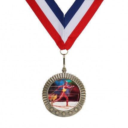 Colorful Value XC Ski Medals