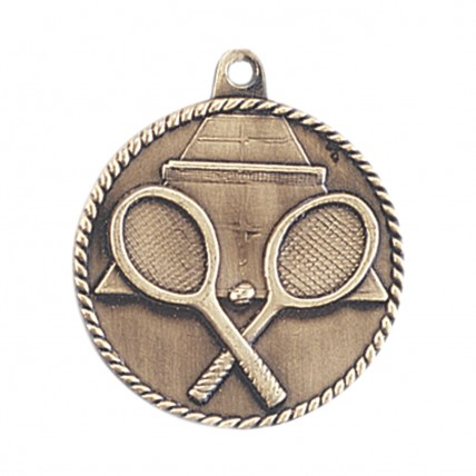 Large Engraved Generic Tennis Medals