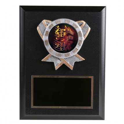Musical Melody Resin Plaque