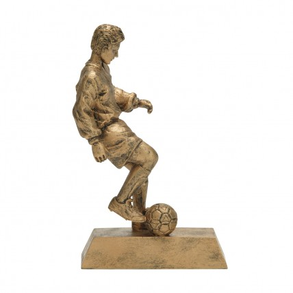 Gold Male Soccer Resin Trophies