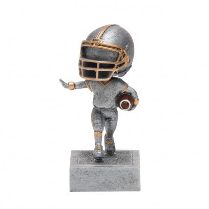 Fun Football Bobblehead Trophies