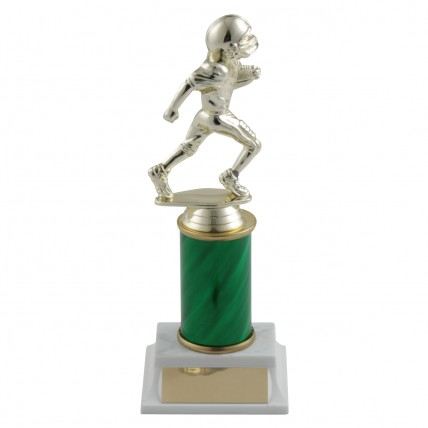 Junior Football Trophies with Column Choice