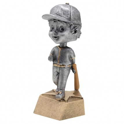 Youth Girl Softball Bobblehead Award