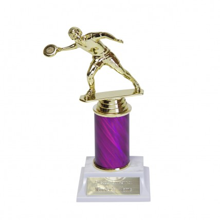 Frisbee Trophy with Column Choice