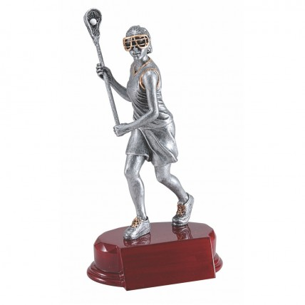 Superior Female Lacrosse Trophy