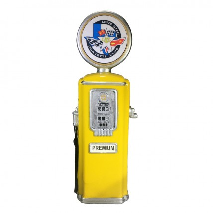 Yellow Gas Pump Trophy