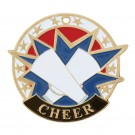 USA Star Cheer Medal - gold
