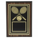 Gold-Toned Tennis Plaques