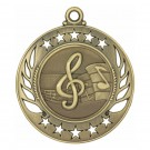Stencil Music Note Medals
