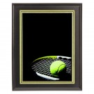 Tennis Ball and Racket Plaque