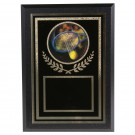 Fiery Holographic Tennis Tournament Plaque