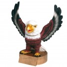 Eagle Mascot Bobble Head Trophy