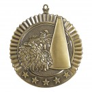 Large Value Cheerleading Medallions - gold
