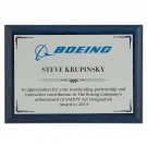 Full Color Sublimated Sapphire Plaque
