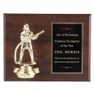 Engraved Firefighter Plaque
