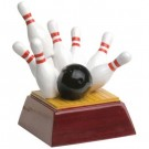 Flying Pins Bowling Trophies