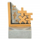 Engraved Mathematics Trophy