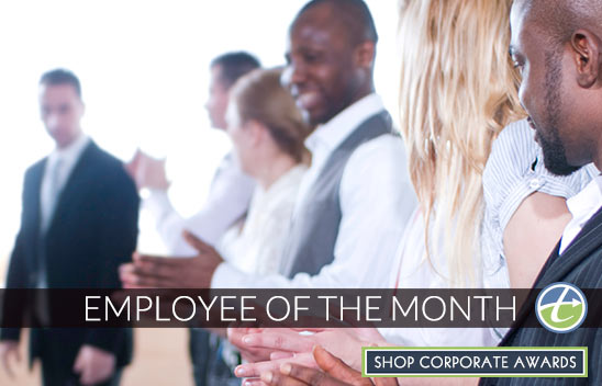 Employee of the Month Plaques & Awards