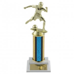 Junior Soccer Trophies with Column Choice