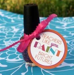 One of the many cute teacher gift ideas found on Pinterest.